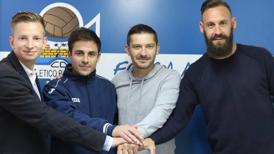 Álex Calero ficha por el Atlético Baleares para subir al juvenil a Honor