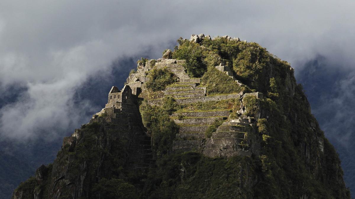 The Huayna Picchu Peak, in Machu Picchu.