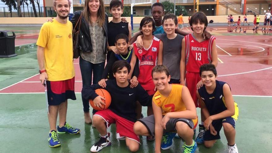 Marta Fernández visita el col·legi Sant Josep Obrer