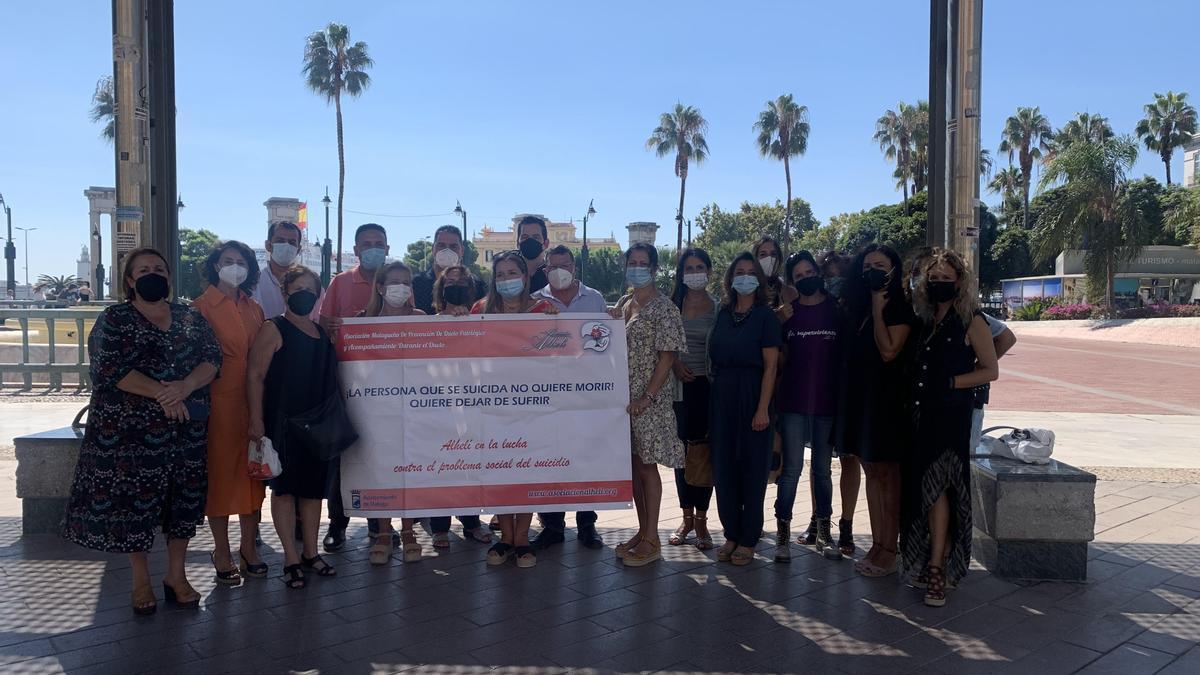 La Asociación Alhelí organiza una concentración por el Día Mundial para la Prevención del Suicidio