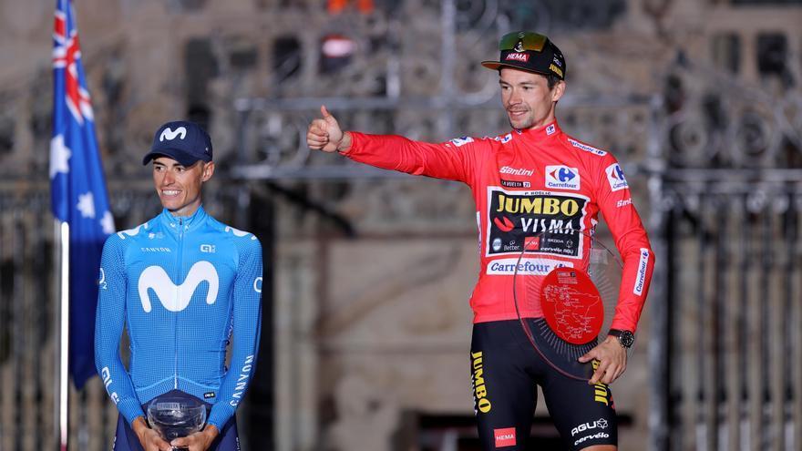 Enric Mas vuelve al podio de la Vuelta