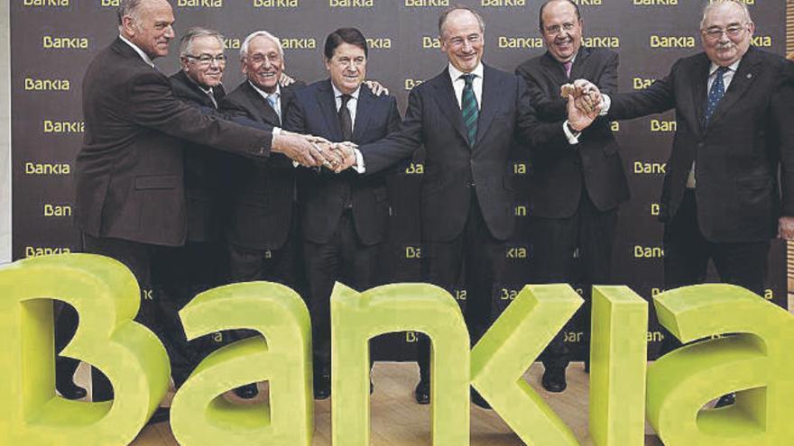 El ocaso de Bankia, una marca con menos de diez años