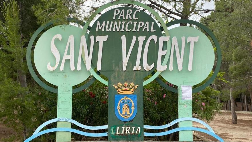Llíria lucirá un Parc de Sant Vicent renovado y más seguro para sus visitas