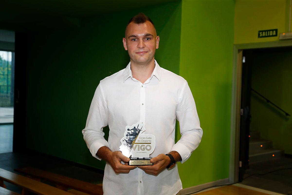 Agustín Alejos, jugador del Amfiv