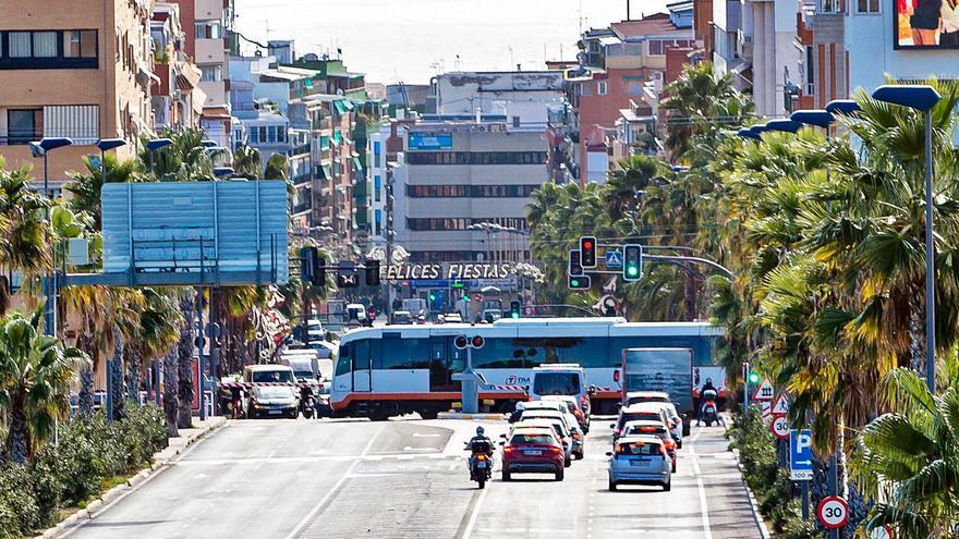 Benidorm y FGV proyectan soterrar el tráfico en Beniardá y tranviarizar el tren
