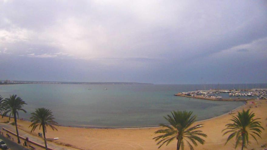 Trotz Wolken bleibt es weiterhin warm auf Mallorca