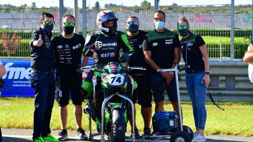 El DEZA Ismabon logra una corona nacional con el piloto discapacitado Luis José Martínez
