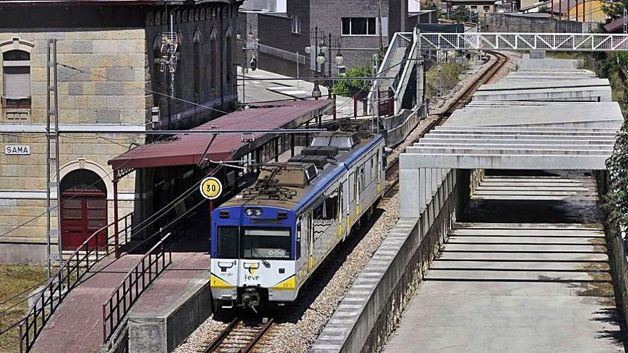 La línea Gijón-Laviana recibirá 36 millones, 24,6 para terminar el soterramiento