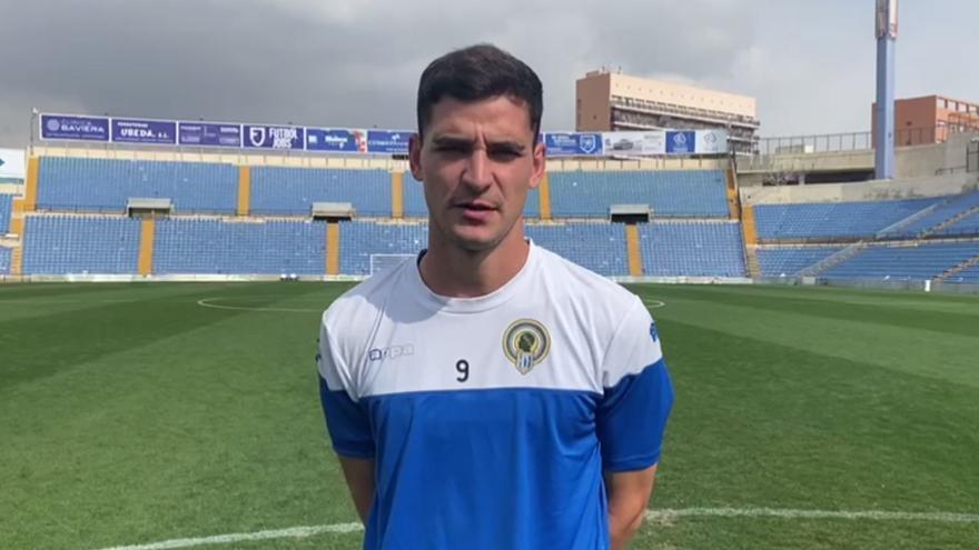 Sergio Buenacasa afronta con ilusión el partido del Hércules ante el Villarreal