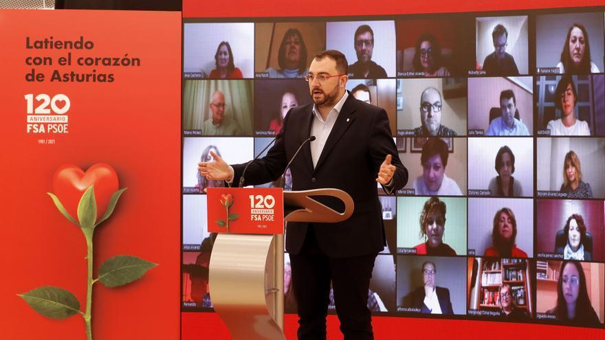 "Pedro Sánchez: ""La Asturias del futuro será la que edifique la FSA"""