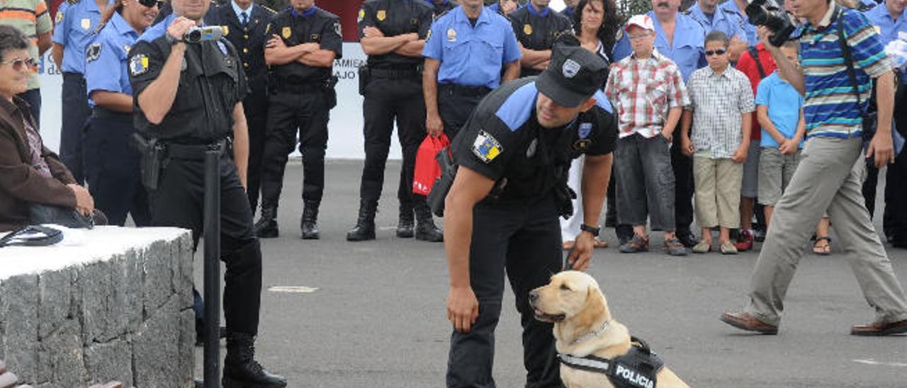 Imagen de un encuentro de policías locales celebrado en Lanzarote.