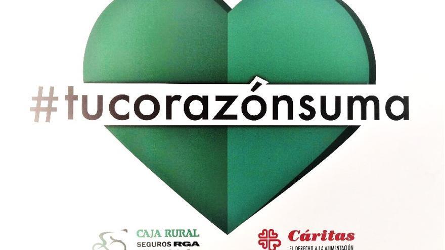 Caja Rural colabora con Cáritas en la Vuelta a España