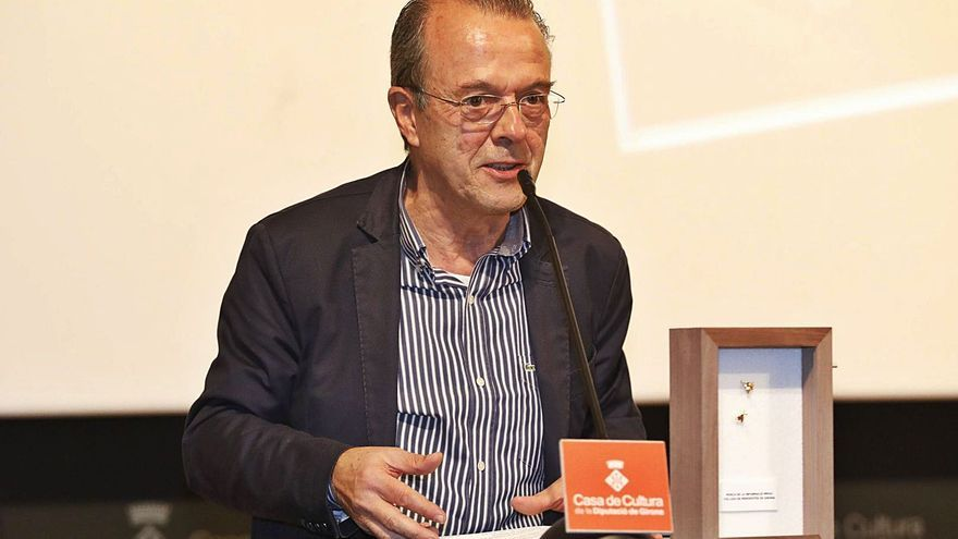 Jordi Xargayó rep l'homenatge del periodisme: «Em sento un privilegiat»