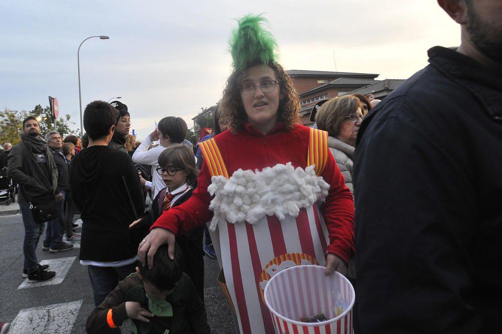 Un instante del carnaval en El Pla