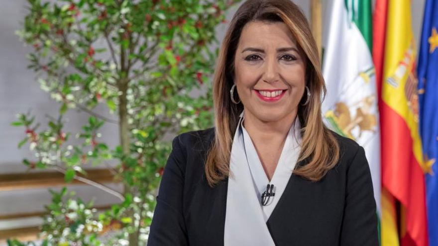 """Díaz alerta de la """"amenaza"""" de los que quieren """"mutilar las competencias"""" de Andalucía"""