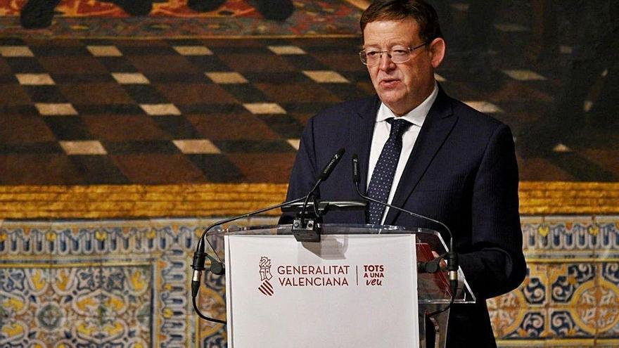 Ximo Puig defensa que cal «establir nous diàlegs» amb Catalunya
