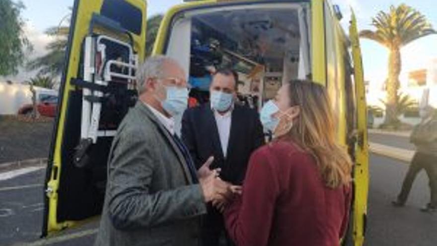 Sanidad avanza en la construcción del búnker de radioterapia en el hospital Doctor José Molina Orosa