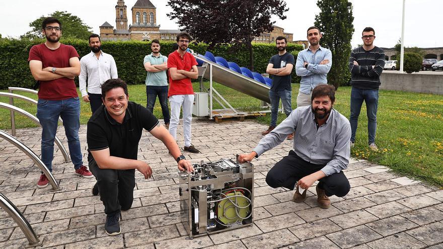 Los fabricantes asturianos del hidrógeno verde