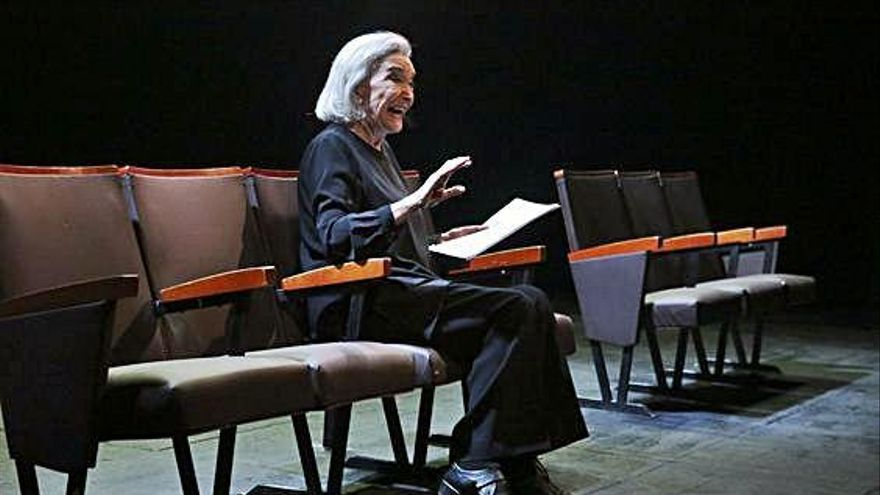 Lorca revive en Nuria Espert y el Teatro Principal de Zamora es testigo
