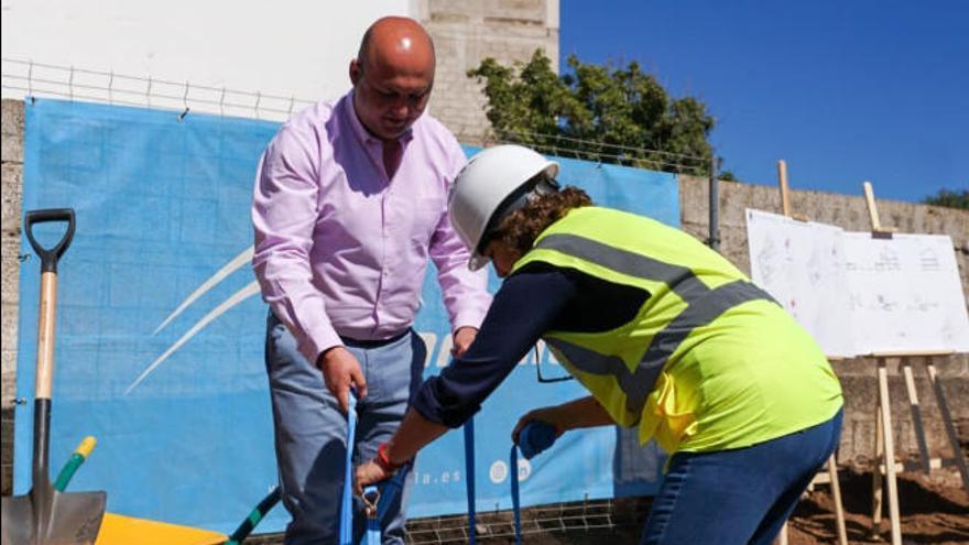 Comienza la construcción de la sala velatorio del casco