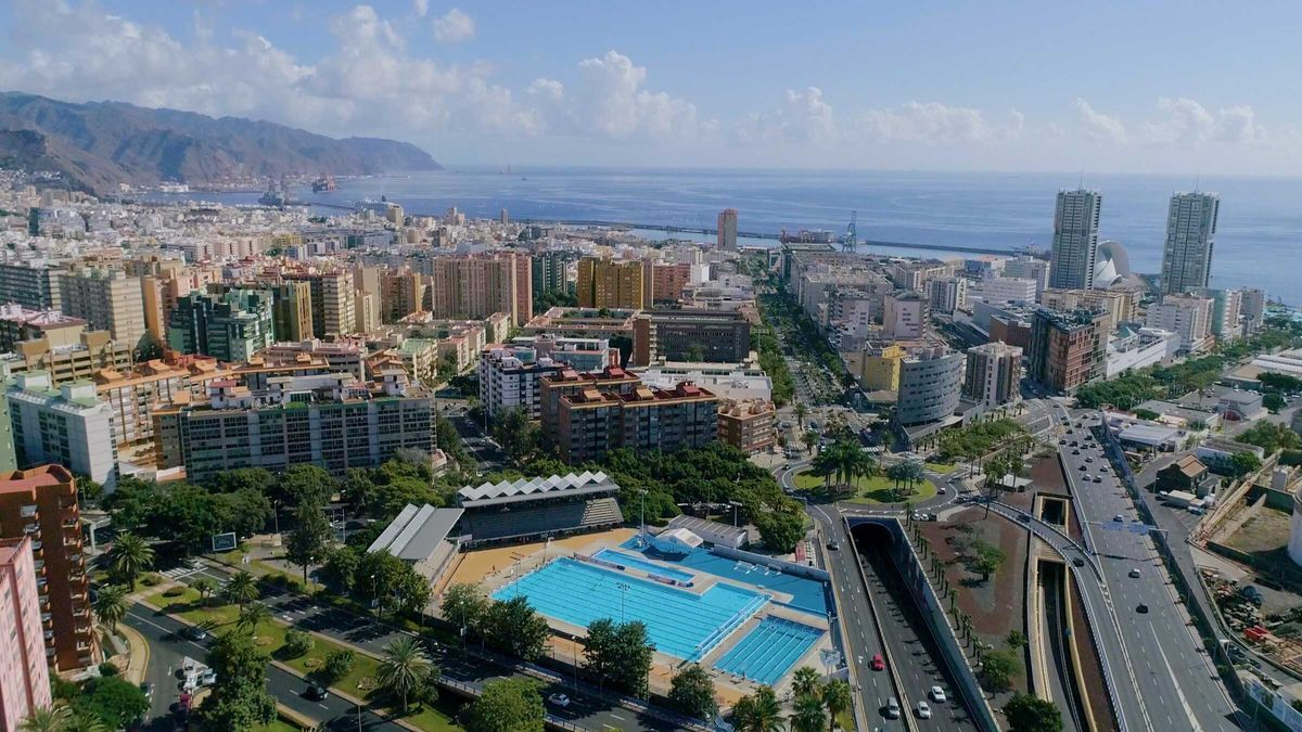 Panorámica de Santa Cruz de Tenerife