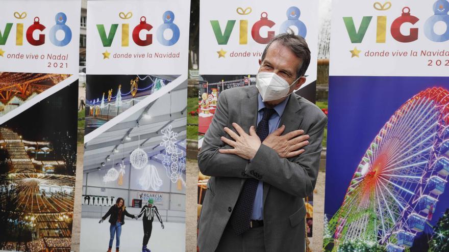 Nuevo parque de atracciones de Navidad en Vigo: ahora Rosalía de Castro