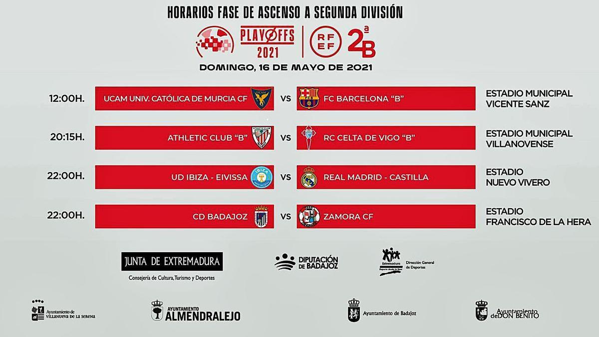 El CD Badajoz, el rival más duro para el Zamora CF
