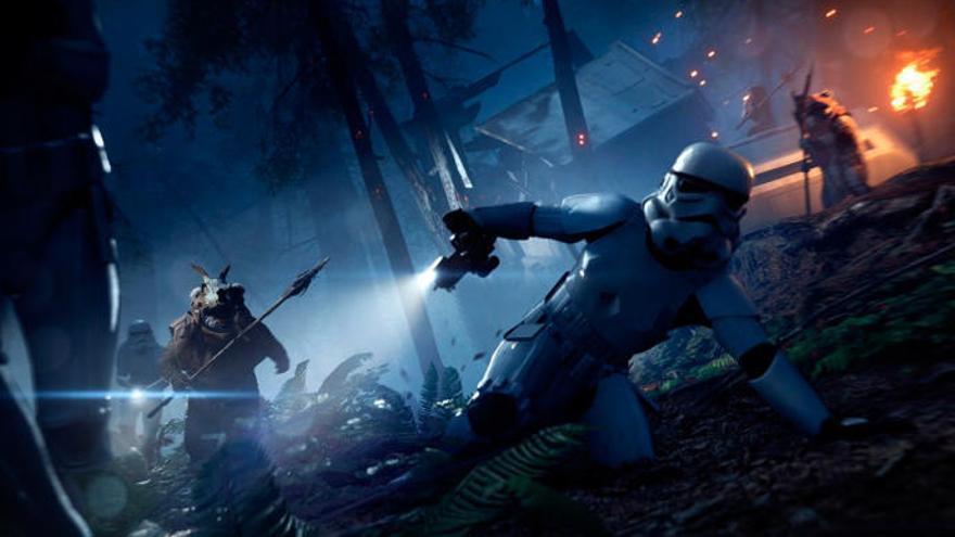 Els Ewok arriben a «Star Wars: Battlefront II» amb el mode «Noche en Endor»