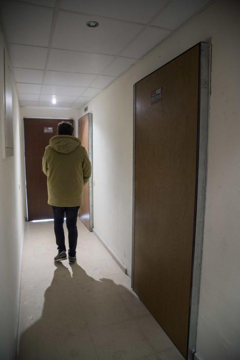 Noves portes de seguretat per evitar que entrin okupes als despatxos