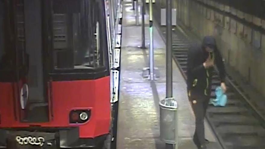 Detenidos varios grafiteros en Castilla y León por pintadas en el metro de Barcelona