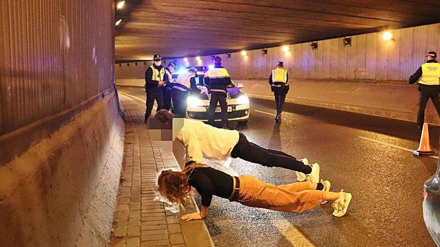 Vigilancia especial para asegurar que se cumple el toque de queda en Alicante