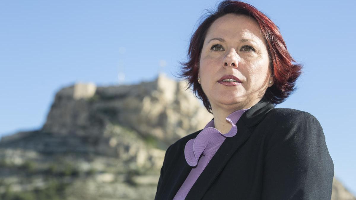 Maria Conejero, concejala de Igualdad del Ayuntamiento de Alicante.