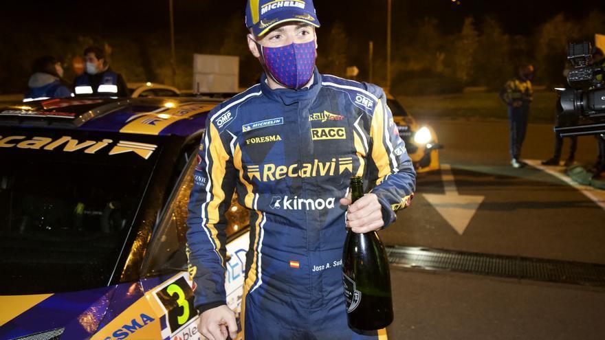 """""""Cohete"""" Suárez, tercero en el Rally de Ferrol"""