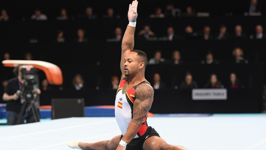 Así se ha ganado la plata en Tokio el gimnasta canario Ray Zapata