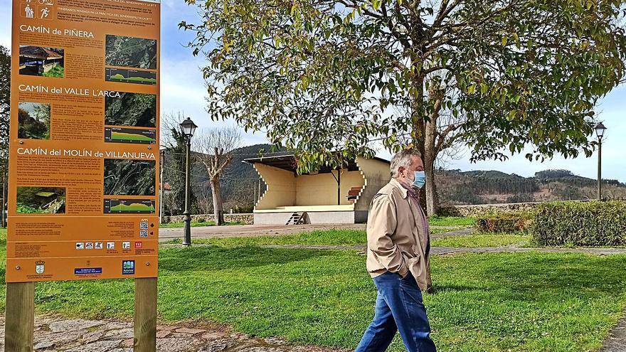 Candamo recupera tres antiguos caminos para rutas senderistas