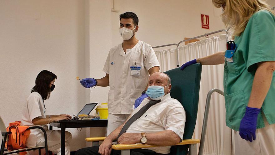 Cuatro residencias inician en Zamora la vacunación con la tercera dosis