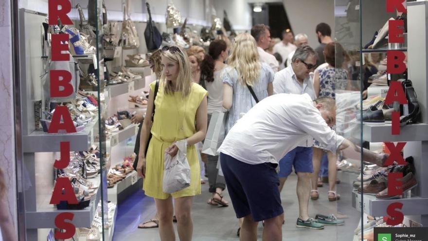 Einzelhandel auf Mallorca beginnt verzweifelten Schlussverkauf
