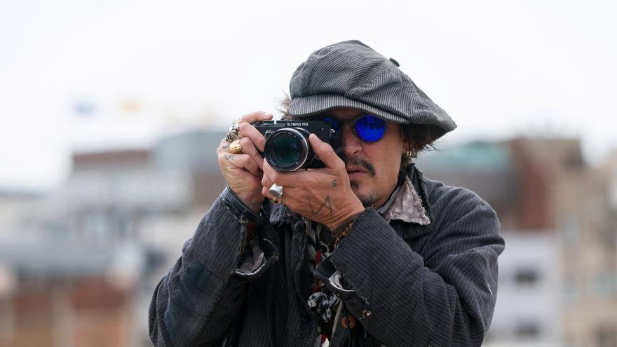 Johnny Depp presenta su nueva película en Barcelona