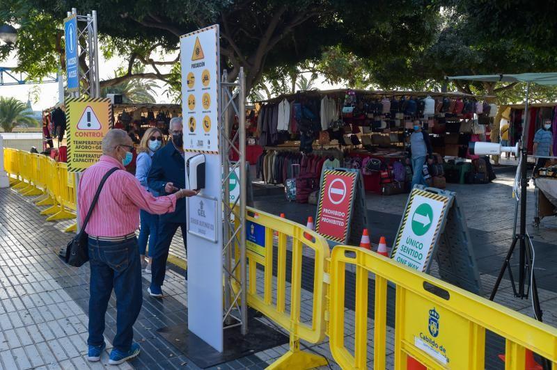 Reapertura del tradicional Rastro de Las Palmas de Gran Canaria