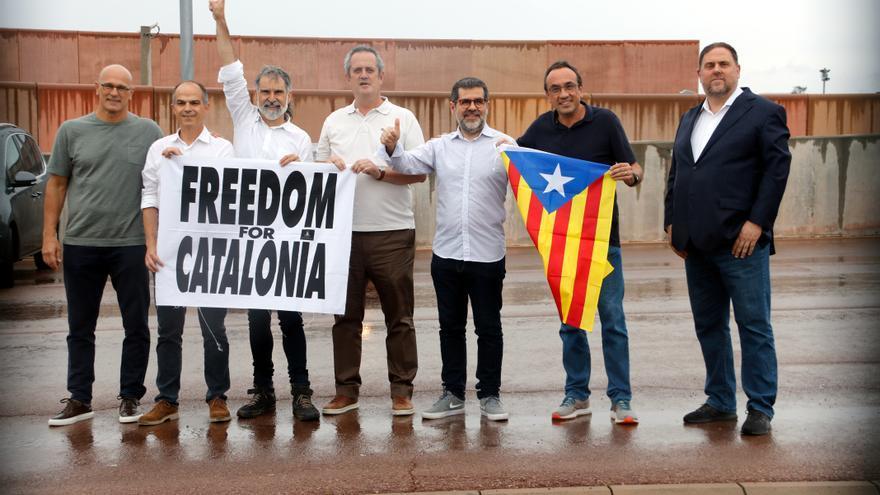 Els presos del Procés surten lliures després d'haver passat més de 1.000 dies a la presó