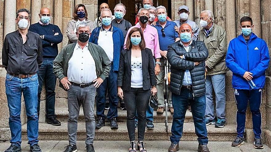 Alcaldes reivindican el tramo xacobeo Betanzos-Vilalba