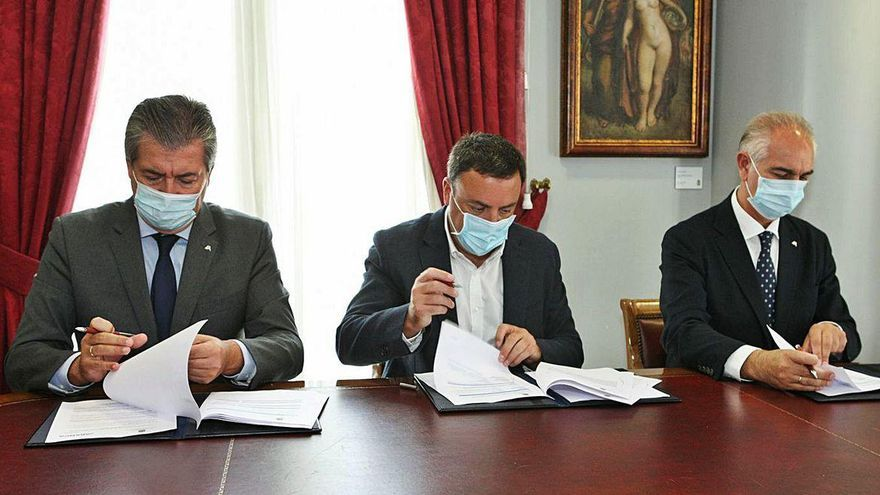 La Diputación y Abanca lanzan un plan de financiación por el Covid-19