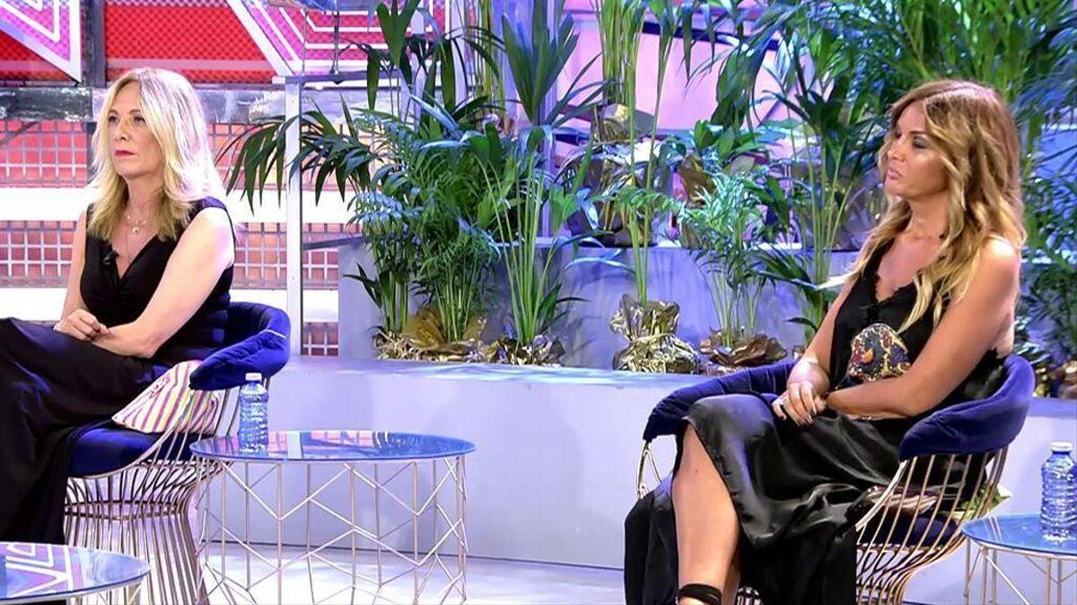 Belén Rodríguez y Marta López.