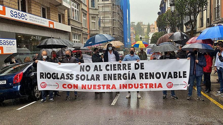 """UGT exige un plan industrial para Rioglass Solar que garantice el """"empleo de calidad"""""""
