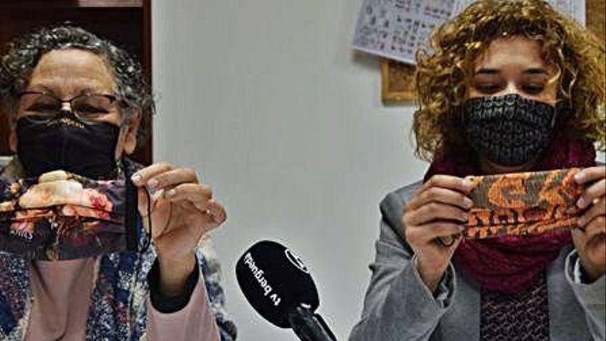 La Fundació Horitzó del  Berguedà estrena mascaretes inspirades en obres d'art