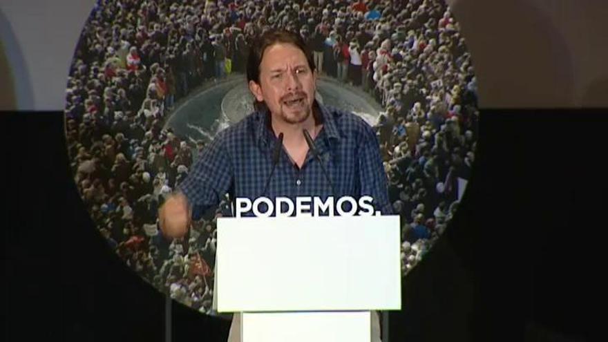 """Iglesias, """"orgulloso"""" de ejercer """"la oposición al PP"""""""
