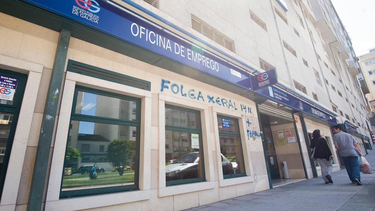 Oficina de empleo en Galicia