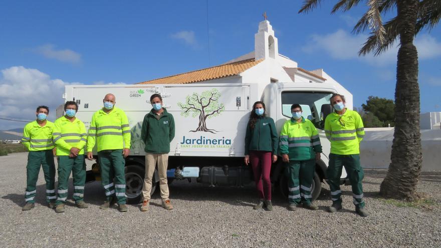 Ibiza Green apuesta por un servicio de jardinería sostenible en el municipio de Sant Josep