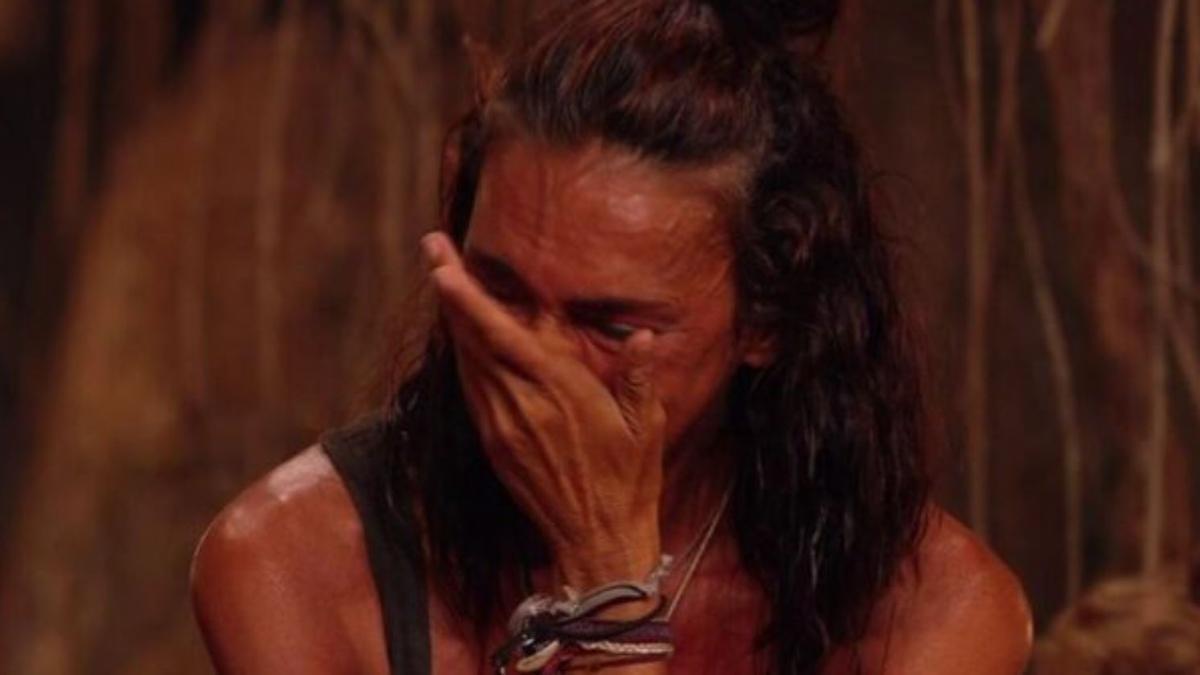 Olga Moreno llora, consciente de sus actos