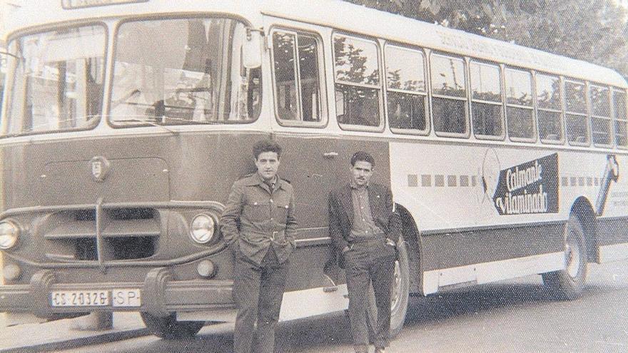 Sesenta años de autobús urbano en Castelló